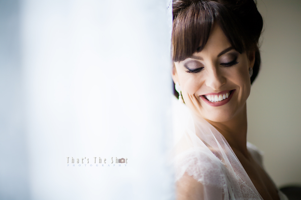 Bride photographed by Melbourne wedding photographer