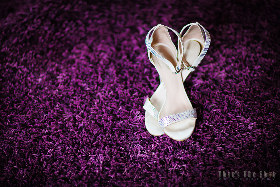 Wedding Shoes photographed by Melbourne Wedding Photographer