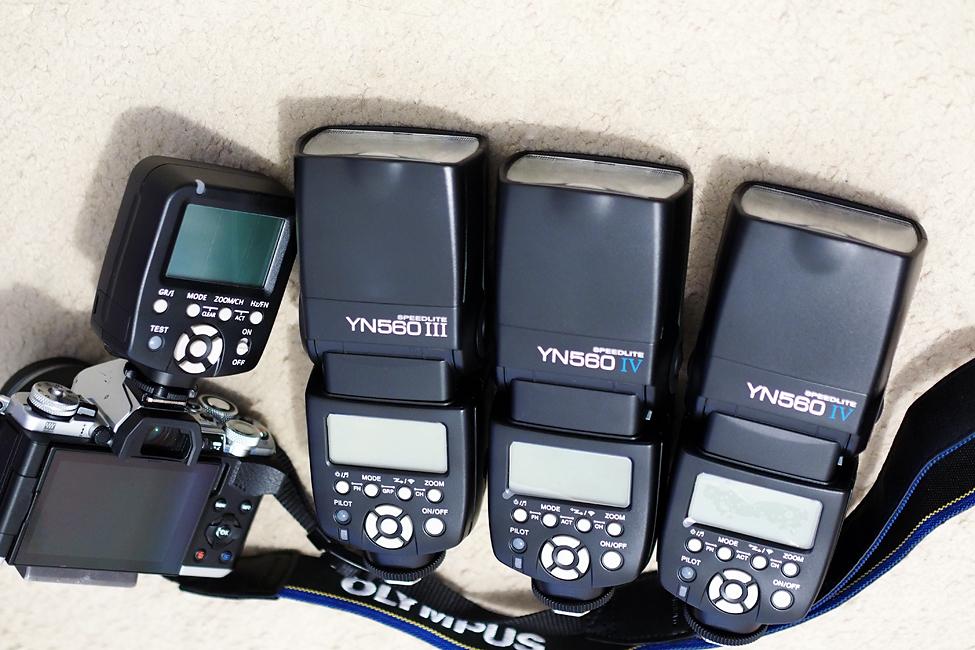 Olympus OMD & Yongnuo YN560IV YN560III