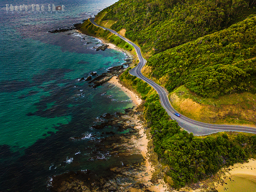 Great Ocean Road, Lorne, Vic, Australia