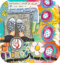 KICKS Art Journal Page