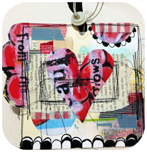 Collage-Tastic Calendar Tag