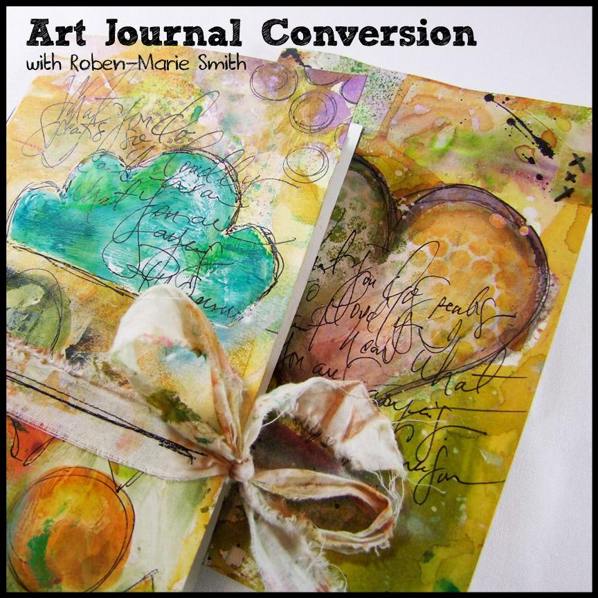 Art Journal Conversion Workshop $25