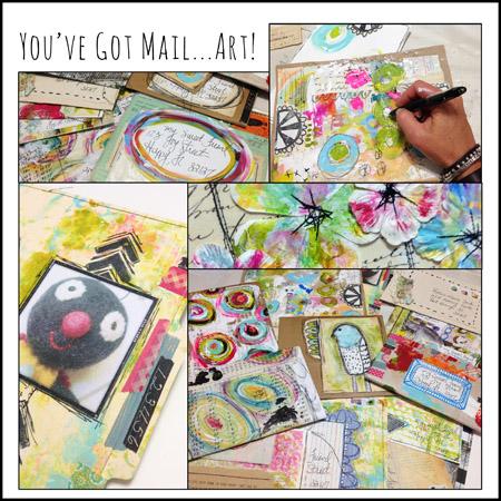 You've Got Mail...Art! Workshop $42
