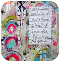 RESOLUTION Art Journal Page