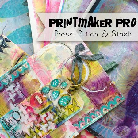 Printmaker Pro: Press, Stitch & Stash $50