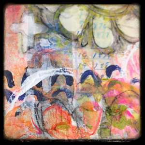art journal page by robenmarie smith