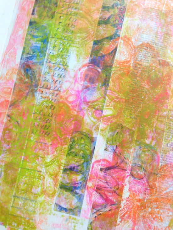 art journal page by Roben-Marie Smith