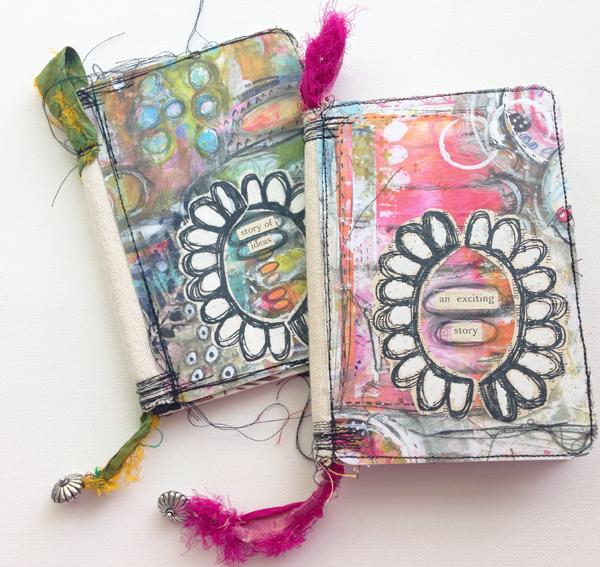 Mini Art Journal Video Tutorial with Roben-Marie Smith