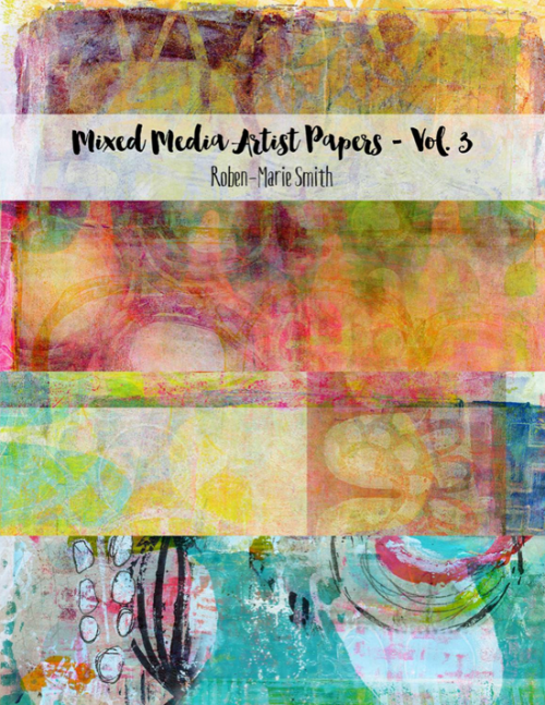 Gelli Arts Papers by Roben-Marie Smith