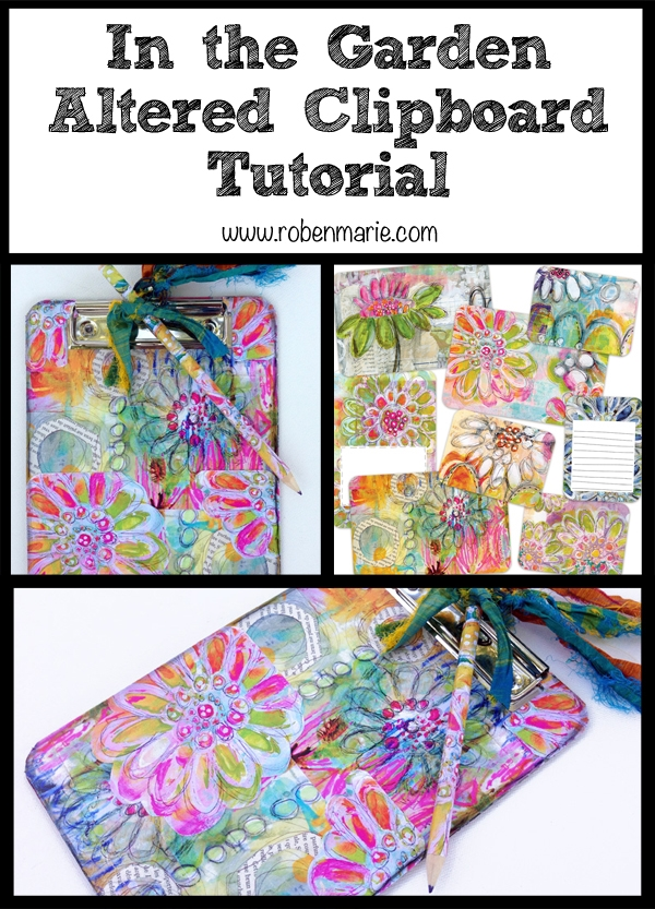 Altered Clipboard Tutorial with Roben-Marie