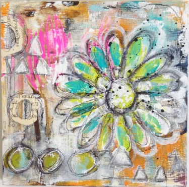 Mixed Media art by Roben-Marie
