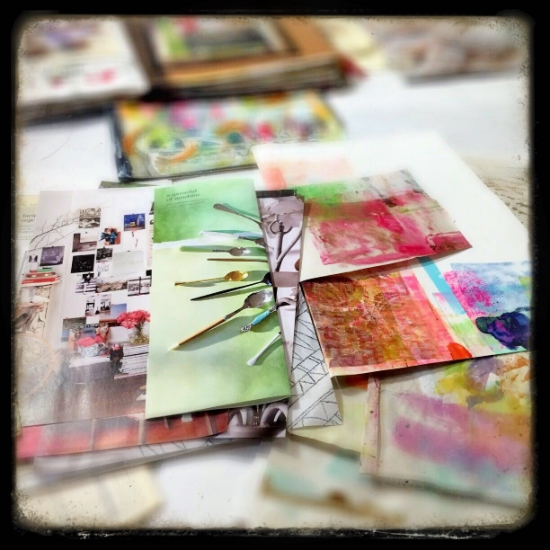 art journaling roben-marie smith