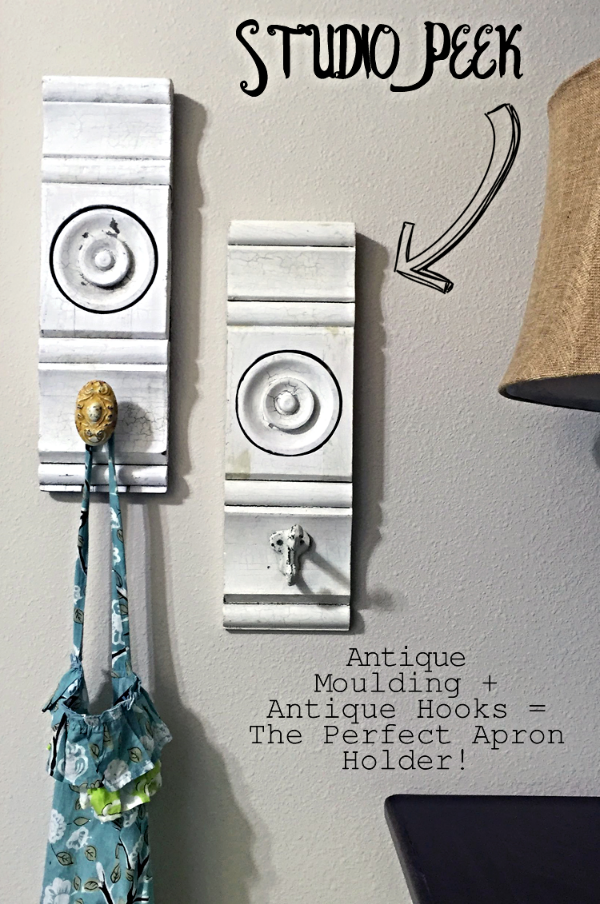 Studio Peek - The Perfect Apron Holder