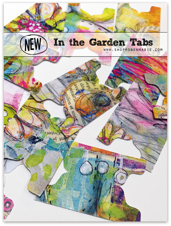 In the Garden Tabs by Roben-Marie Smith