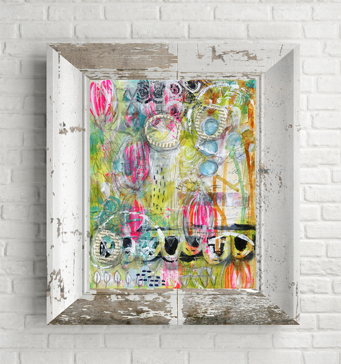 Mixed Media Art by Roben-Marie Smith