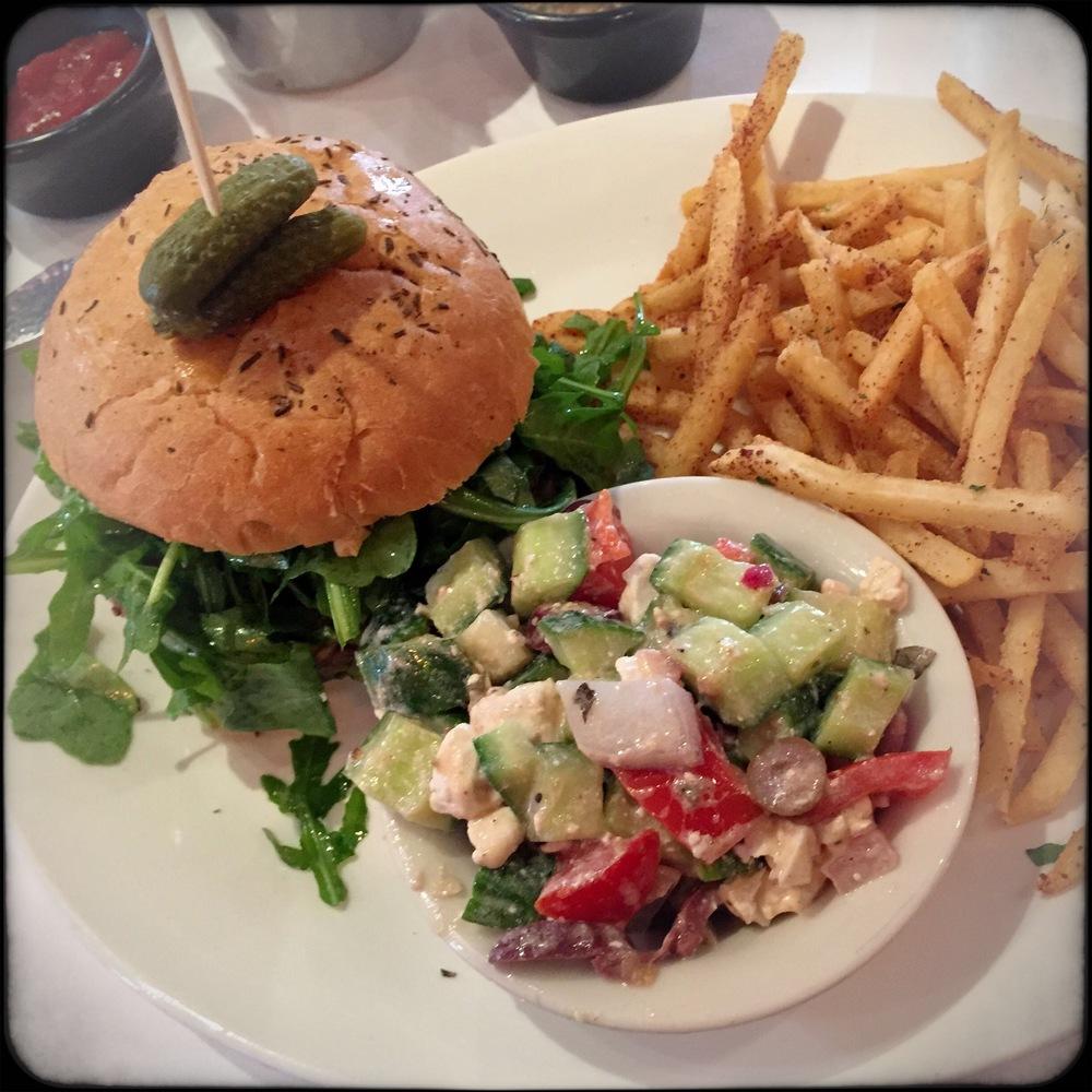 Veggie Burger - Prado