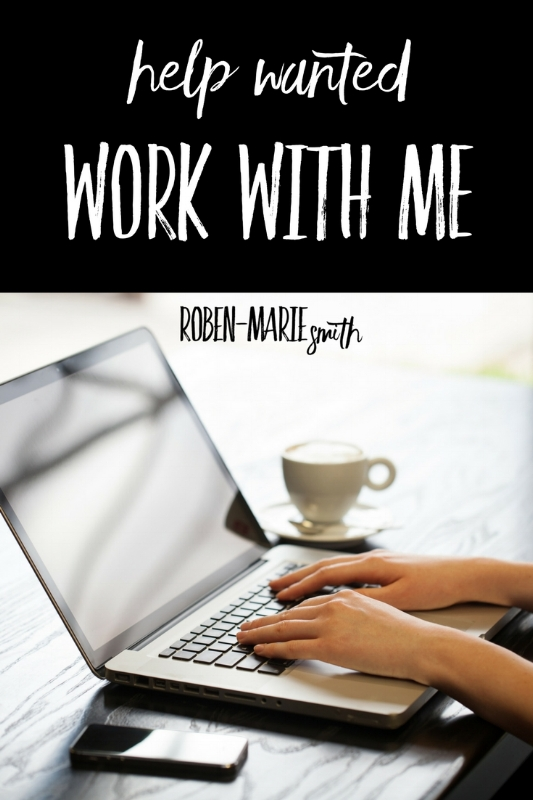 Work with me: I'm hiring!  @robenmarie Roben-Marie Smith job opening for Virtual Assistant.