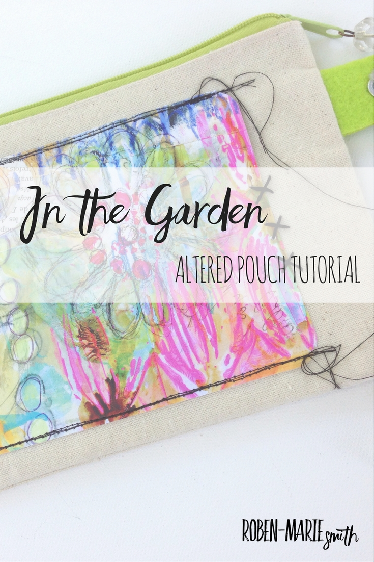 Altered Pouch Tutorial with Roben-Marie Smith