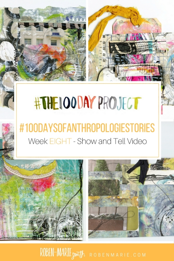 @robenmarie #the100dayproject and #100daysofanthropologiestories where I will take something from an Anthropologie catalog, create a mixed media piece around it and write a little story to go with it. @anthropologieFollow @robenmarie on Instagram for art and stories each day.