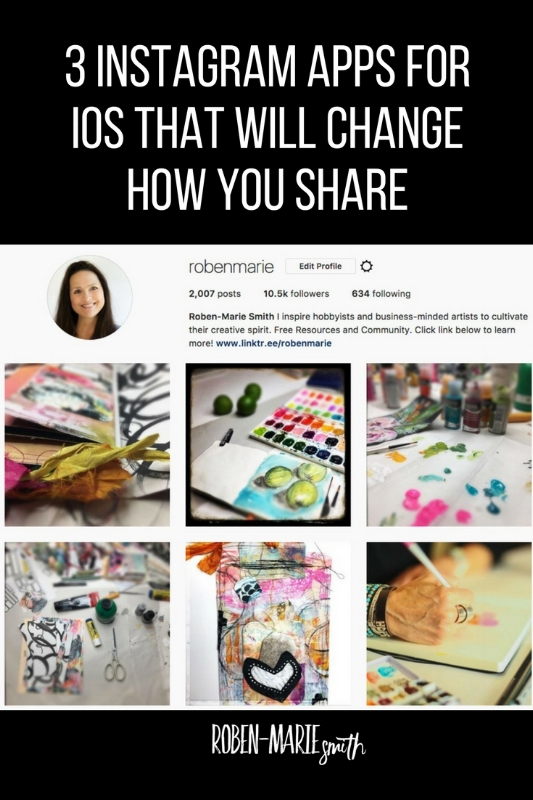 3 Instagram Apps That Will Change How You Share by Roben-Marie Smith @robenmarie Prime for Instagram,  Lisa Photo Assist for Instagram, Analytics for Instagram #instagram #apps #robenmarie