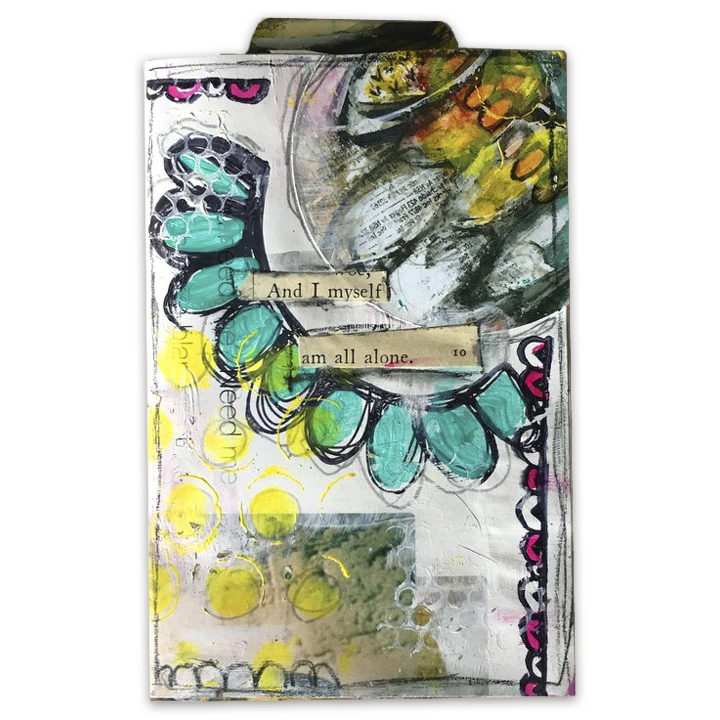 Design Team member Jenni Zmuda is sharing with us how she has made her gorgeous messy Art Journal Zine with us for her design team project. Be inspired to make your own one of a kind zine with her wonderful video tutorial. She uses stamps from Paperbag Studios and Art Pops™ to create this gorgeous piece of Art! @robenmarie @jennizmuda #robenmarie #robenmariedesignteam #paperbagstudios #artpops #mixedmedia #diy