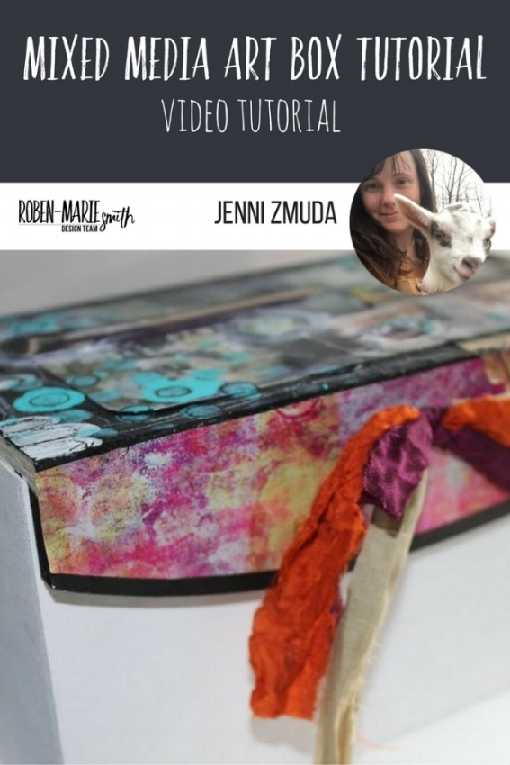Design Team member Jenni Zmuda is sharing with us a special mixed media art box which is perfect for gift giving with us Design Team project. She uses Art Pops™ and Paperbag Studio Stamps to create this gorgeous piece of Art! @robenmarie @jennizmuda #robenmarie #robenmariedesignteam #paperbagstudios #artpops #mixedmedia #diy
