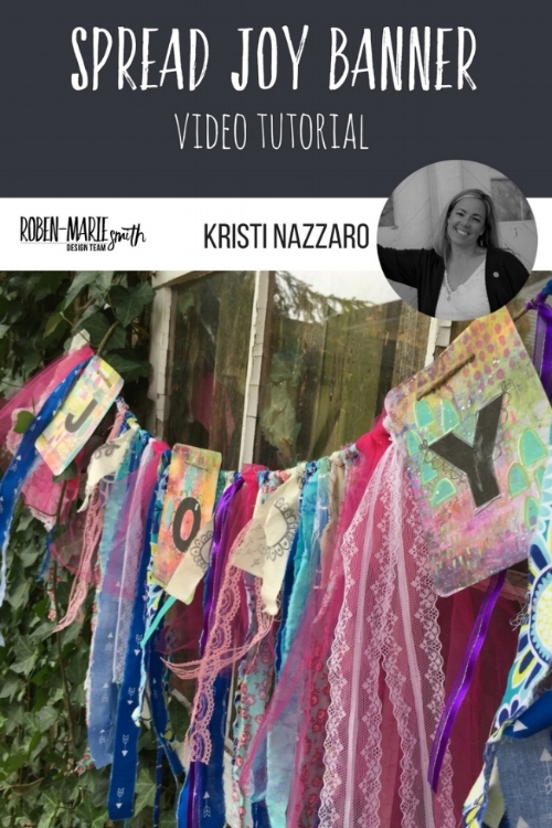 Design Team member Kristi Nazzaro is spreading joy everywhere she goes and is showing us with how she made this beautiful mixed media banner. Follow along with her video tutorial as she creates something which is sure to make you the hit of the party! She uses Art Pops™ and Paperbag Studio Stamps to create this gorgeous piece of Art! @robenmarie @kristinazzaro #robenmarie #robenmariedesignteam #paperbagstudios #artpops #mixedmedia #diy