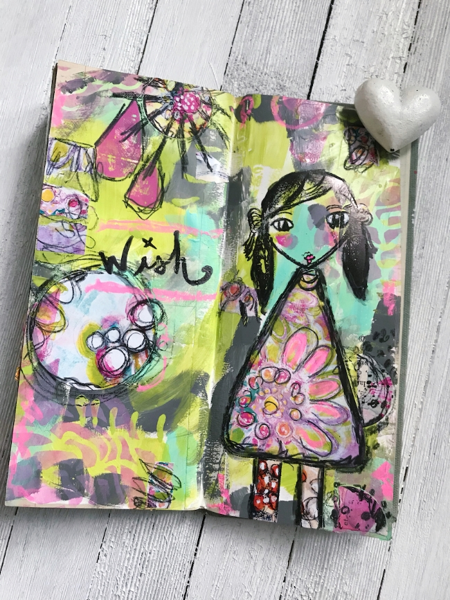 Check out this video tutorial as Design Team member Cindy Gilstrap guides you through her process for art journaling in vintage ledgers. She uses Art Pops™ and Paperbag Studios Stamps to create this gorgeous layout! @robenmarie @junqueart #robenmarie #robenmariedesignteam #paperbagstudios #artpops #mixedmedia #diy #artjournal #artjournaling