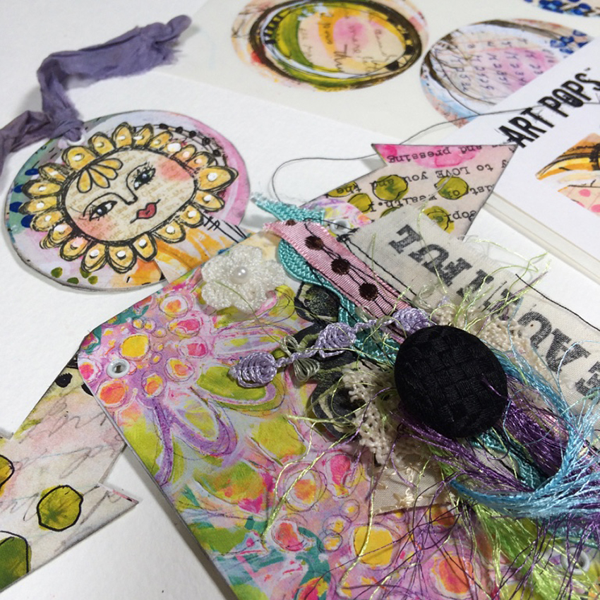 Check out this video tutorial as Design Team member Laurie Haley creates this beautiful mixed media art doll as her project. Laurie takes you step by step through creating this sweet little art doll to serve as the perfect guardian of your art journals. She uses Art Pops™ and Paperbag Studios Stamps. @robenmarie @laurierichardsonhaley #robenmarie #robenmariedesignteam #paperbagstudios #artpops #mixedmedia #diy