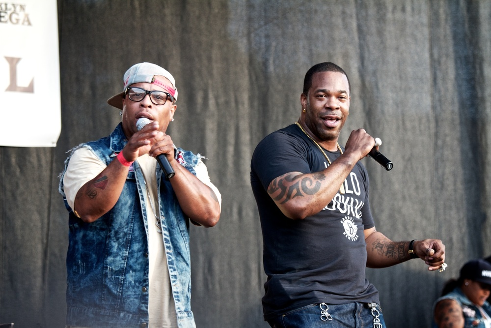 Spliff Star and Busta Rhymes at BHF 2012