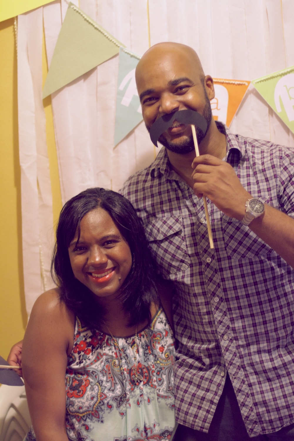 Naomi and Keino at their Baby Shower