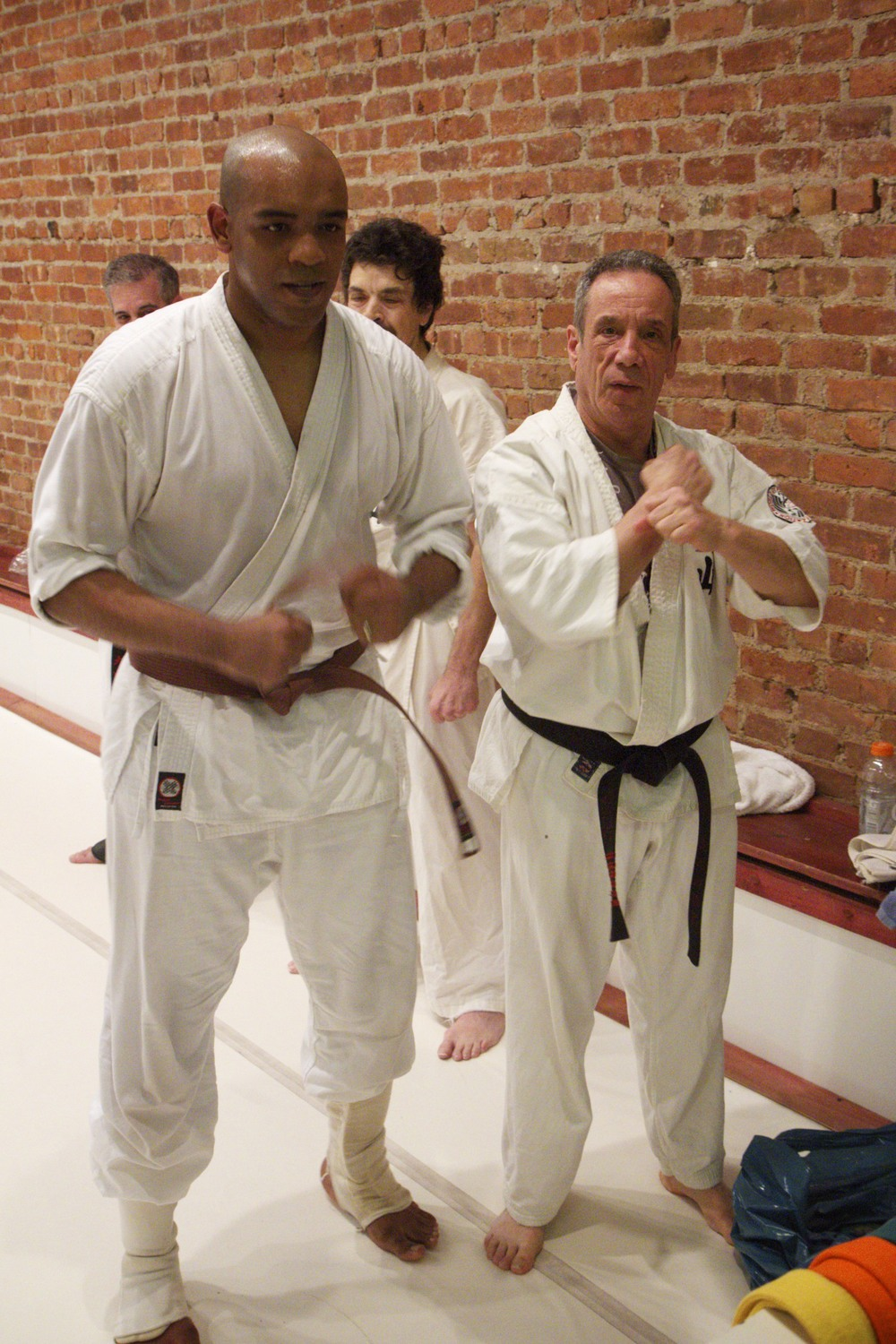 Newly-minted Brown belt, March 2012