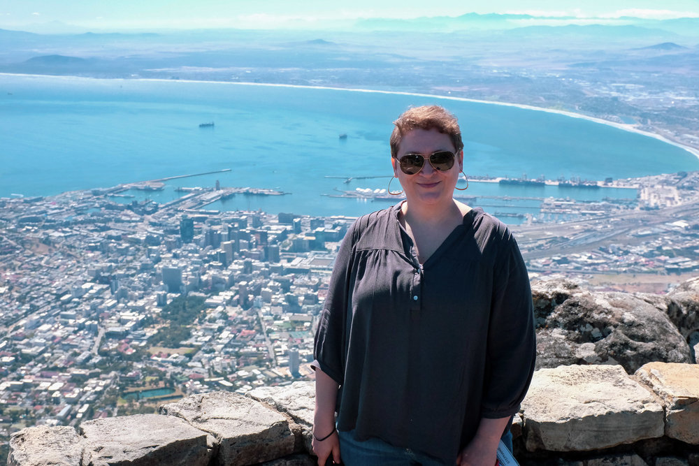 Cape Town, as seen from Table Mountain