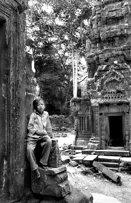 Ta Prom, Cambodia 2002