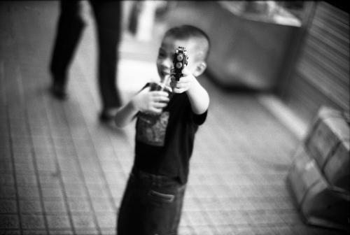 Kid with a Fake Gun