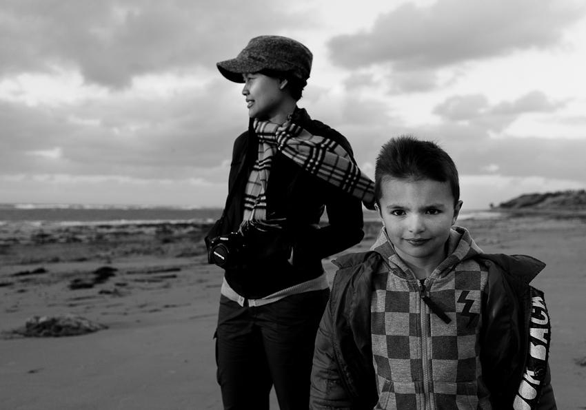 Rima & Sydney, Aldinga Beach, Dec 2010