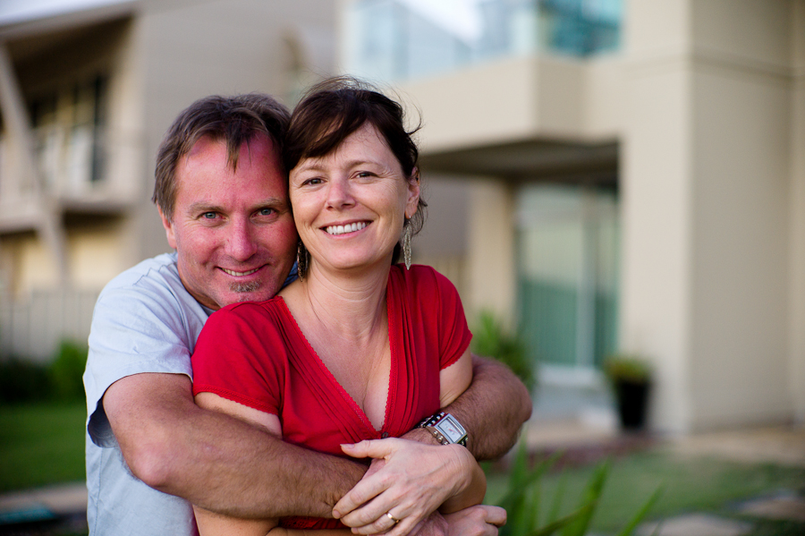 Steve & Ilona, Aldinga, Dec 2010