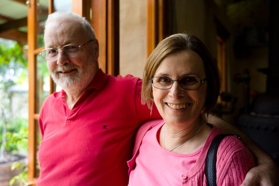 Mum & Dad, Samuel's Gorge, Dec 2010