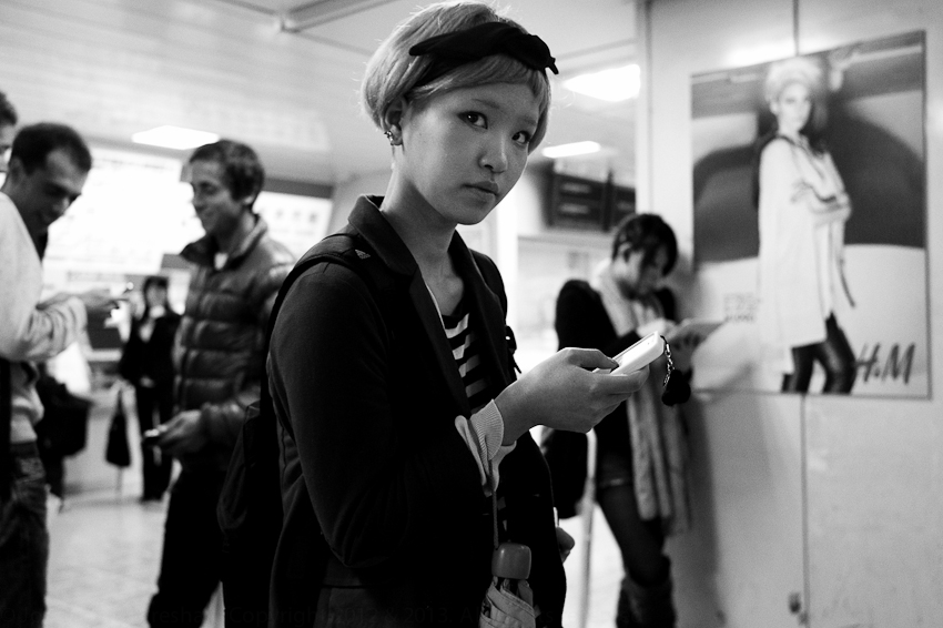 Shibuya Station, Tokyo, Oct 2012