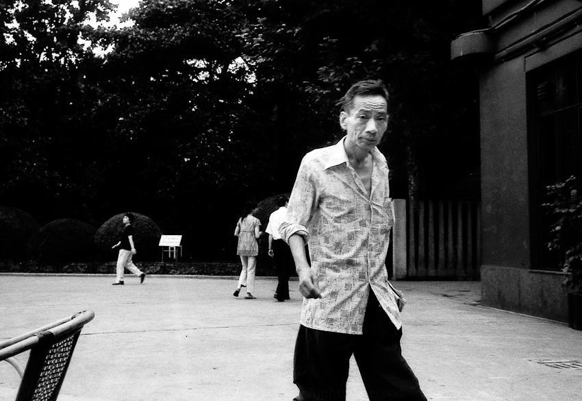 Bloke in a Park, Shanghai 2004