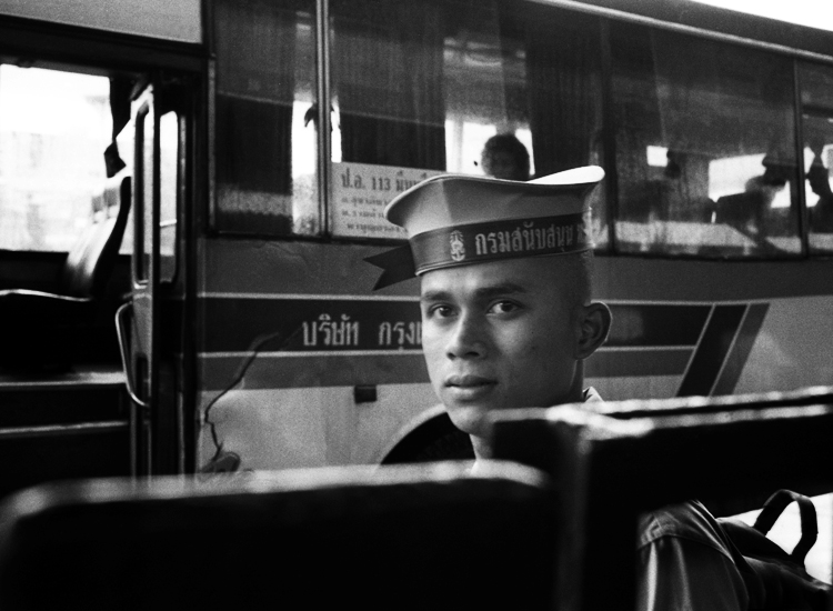 Sailor, Hua Lum Phong Station, Oct 2011