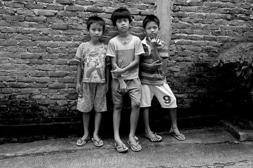 Haidar & his mates, Jakarta Selatan, August 2013