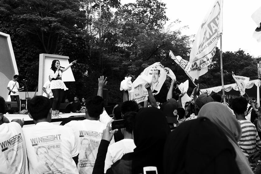 Hanura Political Rally, Gelora Bung Karno Stadium, Jakarta, April 2014