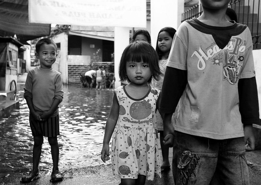 Kids At The Flood, Lenteng Agung, Jakarta July 2014