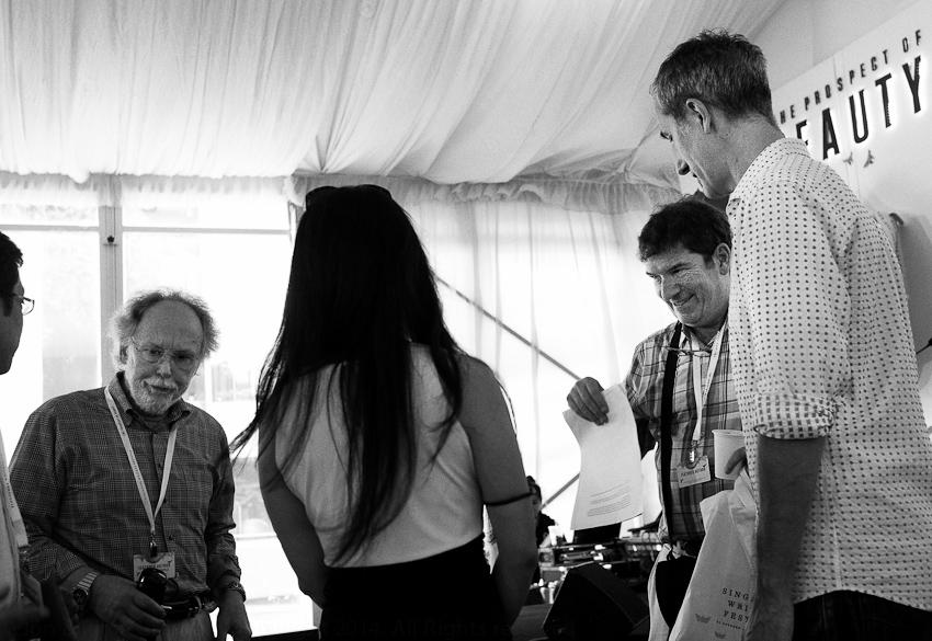 Barry Lopez, Robin Hemley & Geoff Dyer