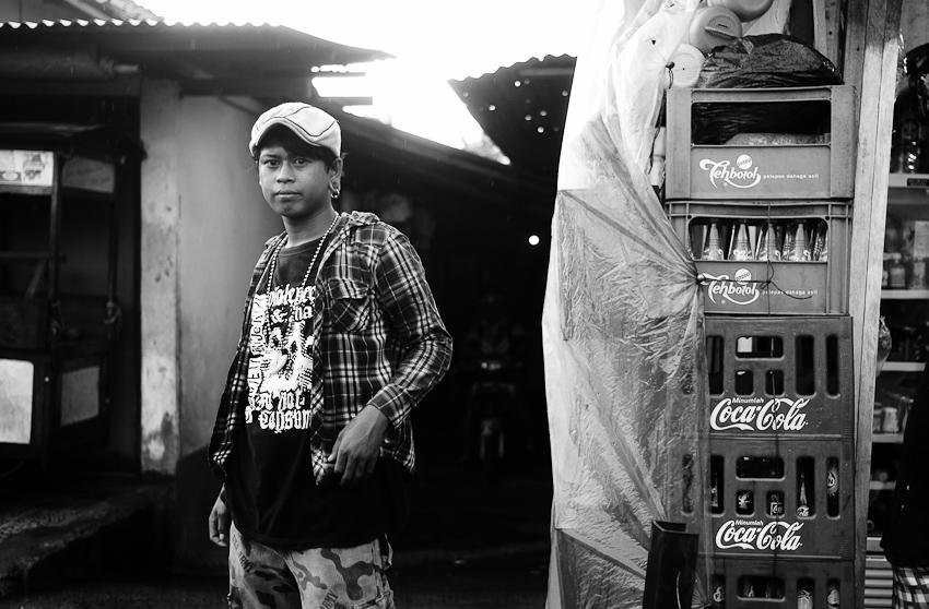 Man in the street, Jakarta Selatan, April 2014