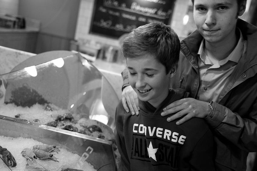 Crustaceans, Isaac & Joel, June 2013