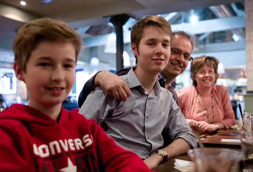 Isaac, Joel, Marcus & Judy