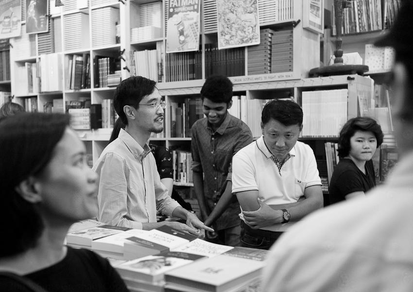 David Wong & Prabu Daveraj & Others